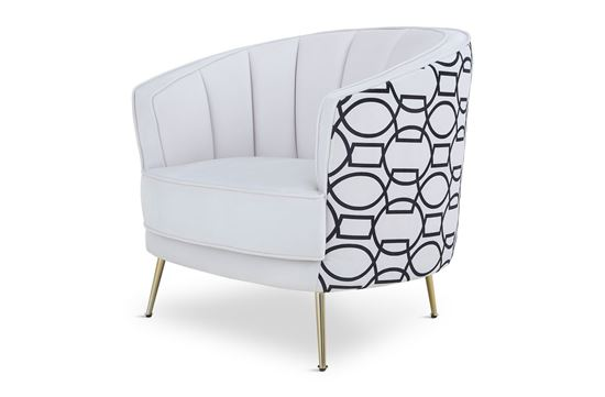 Picture of New York Georgie Occasional Chair Gold