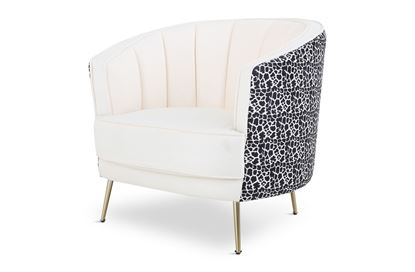 Picture of Cheetah Georgie Occassional Chair Gold