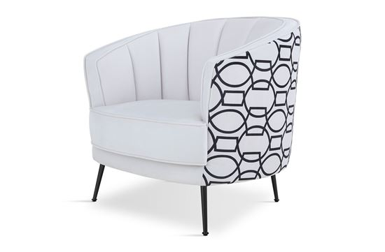 Picture of New York Georgie Occasional Chair Black