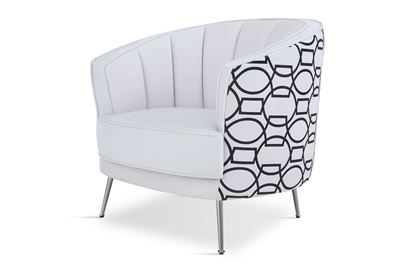 Picture of New York Georgie Occasional Chair Silver