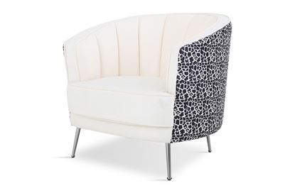 Picture of Cheetah Georgie Occasional Chair Silver