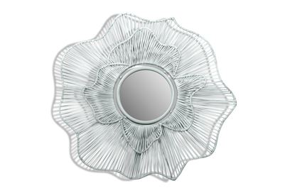 Picture of Harper White Mirror  (Factory seconds sold as is no returns or refunds)