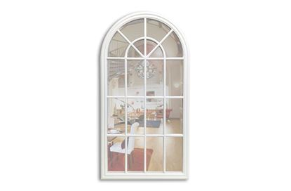 Picture of Benson White Arched Mirror