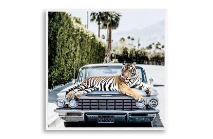 Picture of Gucci Tiger 100 x 100 W/F