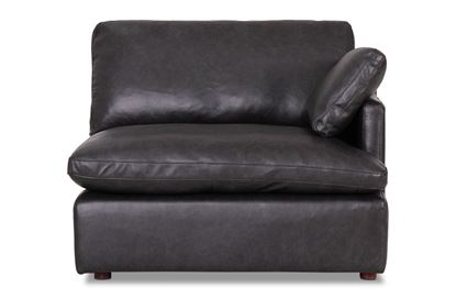 Picture of Cosy Midnight Leather Right End - Modular Sofa