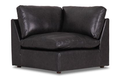Picture of Cosy Midnight Leather Corner - Modular Sofa