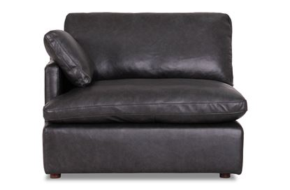 Picture of Cosy Midnight Leather Left End - Modular Sofa