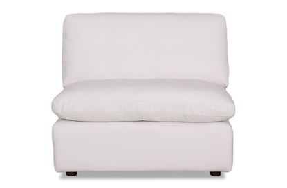Picture of Cosy Snow Leather Centre - Modular Sofa