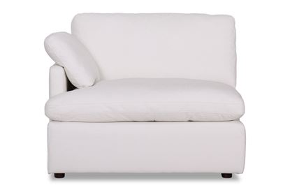 Picture of Cosy Snow Leather Left End - Modular Sofa