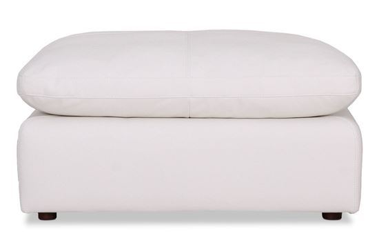 Picture of Cosy Snow Leather Ottoman - Modular Sofa