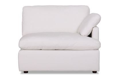 Picture of Cosy Snow Leather Right End - Modular Sofa