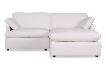 Picture of Cosy Snow Leather Sofa - Package Eight
