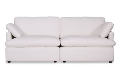 Picture of Cosy Snow Leather Sofa - Package One