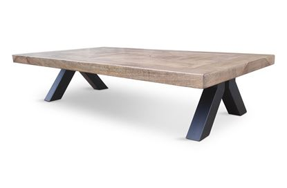 Picture of Sienna 150 Coffee Table Black Base