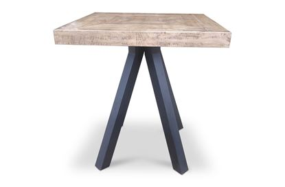 Picture of Sienna Square Bar Table Black Frame