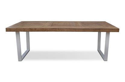 Picture of Sienna 2200 Dining Table White U Base