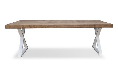 Picture of Sienna 2200 Dining Table White X Base