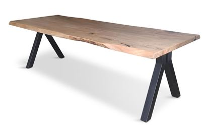 Picture of Bondi 2600 Dining Table Black Pitched Frame