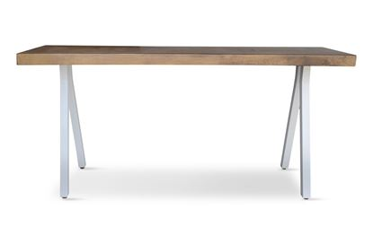 Picture of Sienna 1.6m Console With White Base