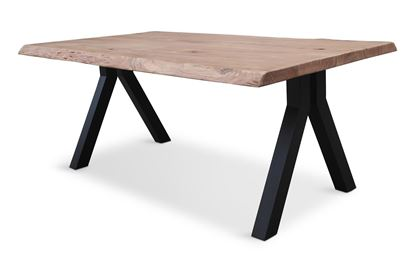 Picture of Bondi 1800 Dining Table Black Pitched Frame