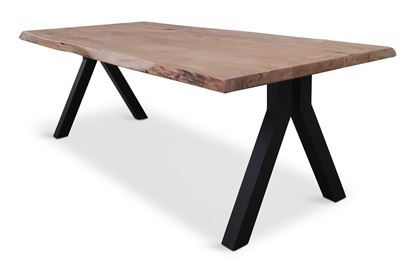 Picture of Bondi 2200 Dining Table Black Pitched Frame