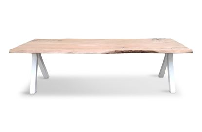 Picture of Bondi 2600 Dining Table White Pitched Frame
