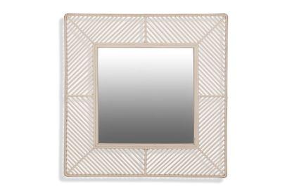 Picture of White Bermuda Mirror