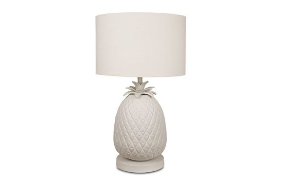Picture of White Pineapple Lamp