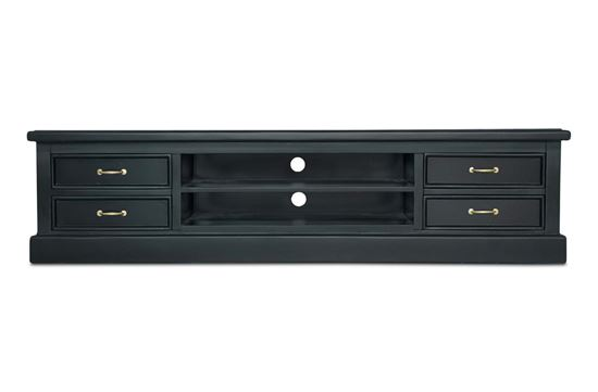 Picture of New York Entertainment Unit W/ Gold Handles