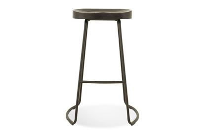 Picture of Lexus Barstool 75cm Black Frame With Midnight Seat
